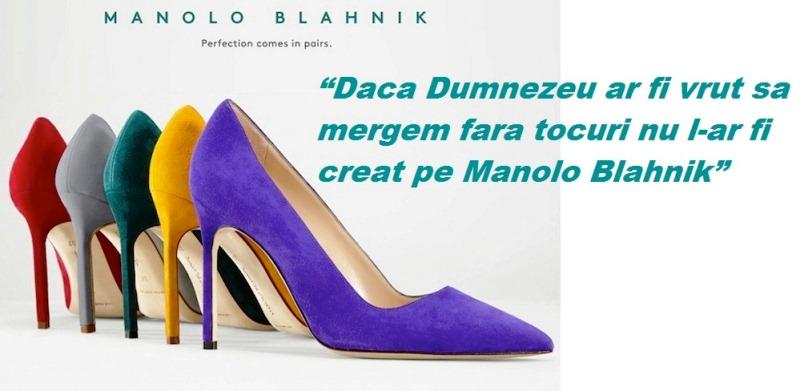 Pantofi Manolo Blahnik