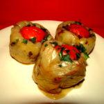 Savurosi: Ardei umpluti cu legume si ciuperci