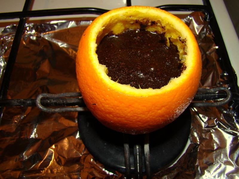 cafea in portocala