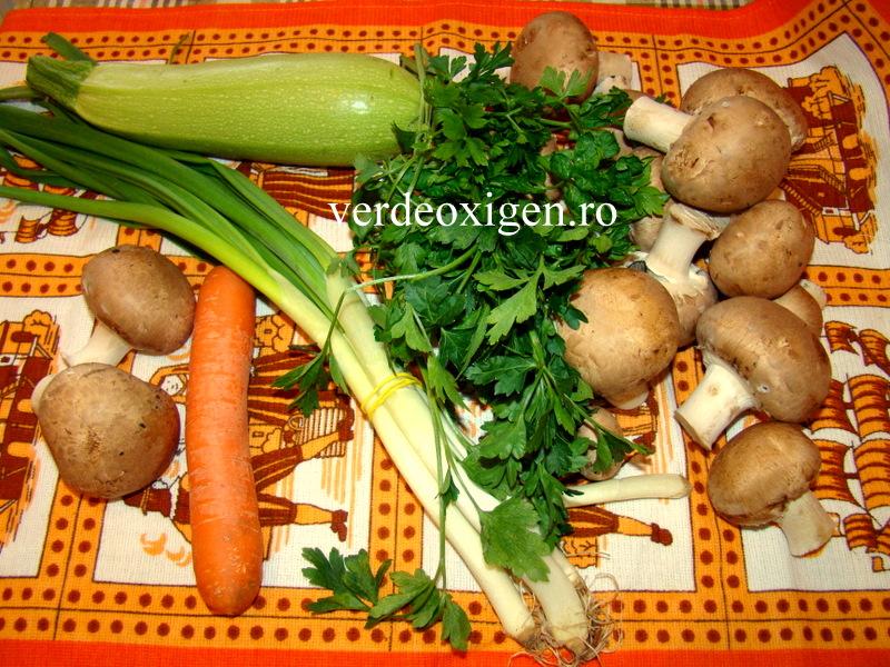 ingrediente dovlecei cu ciuperci