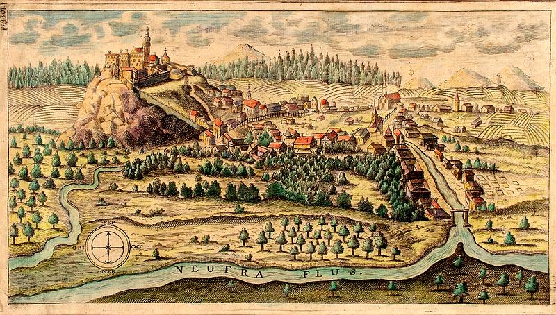 Castel Nitra in antichitate