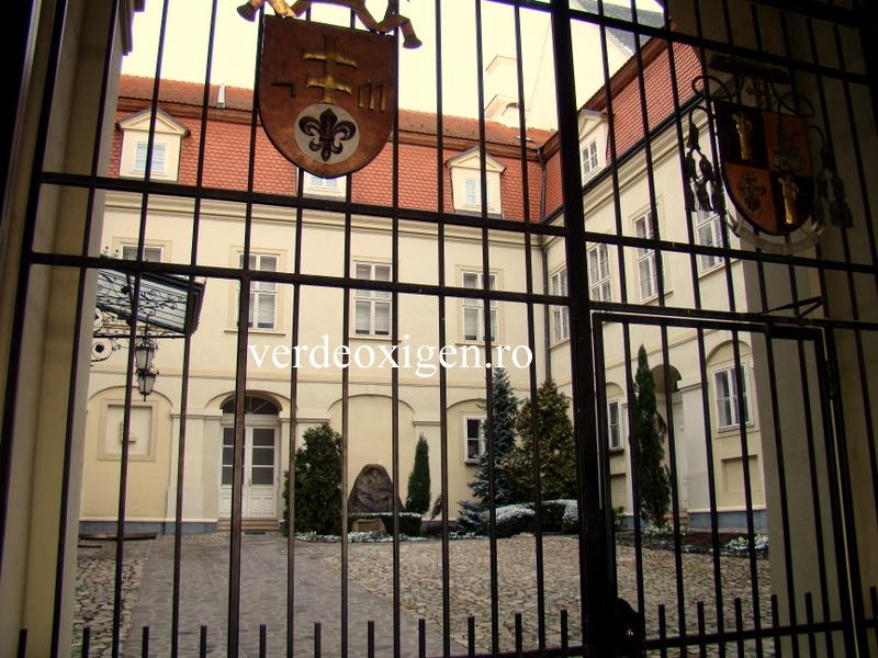 Sediul Episcopie in castelul Nitra