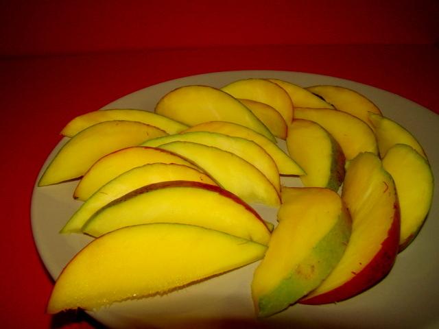 Felii de mango