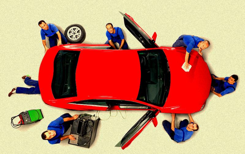 reparatie masina