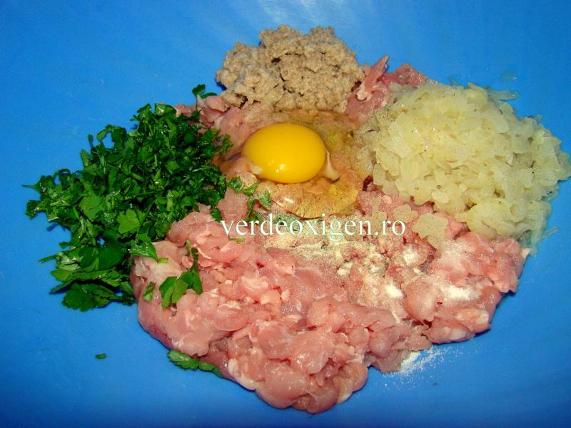 Amestec pentru chiftele curcan