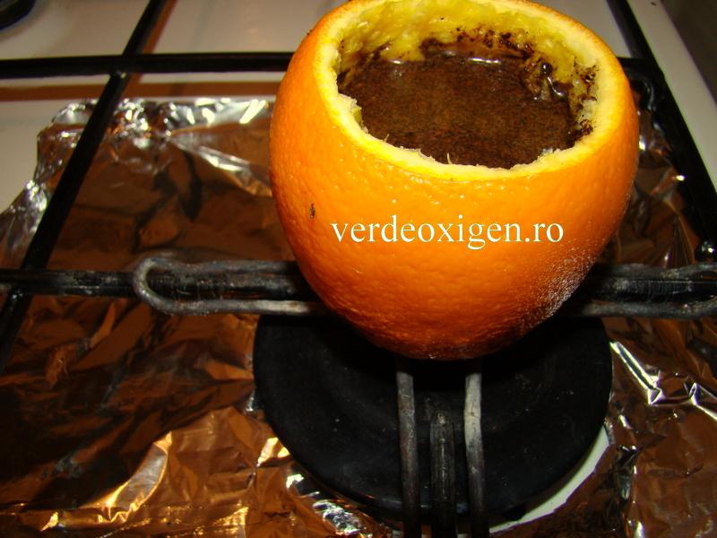 cafeaua fierbe in portocala