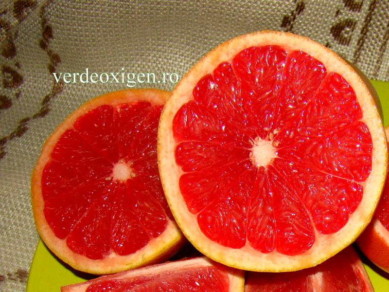 grapefruit rosu -jumatate