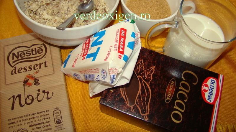 ingrediente crema de ciocolata cu castane