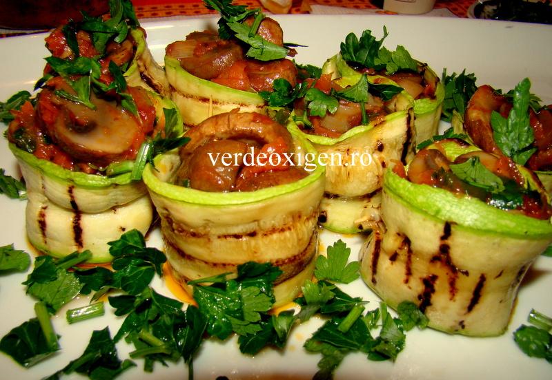 dovlecei cu ciuperci-halate dragute
