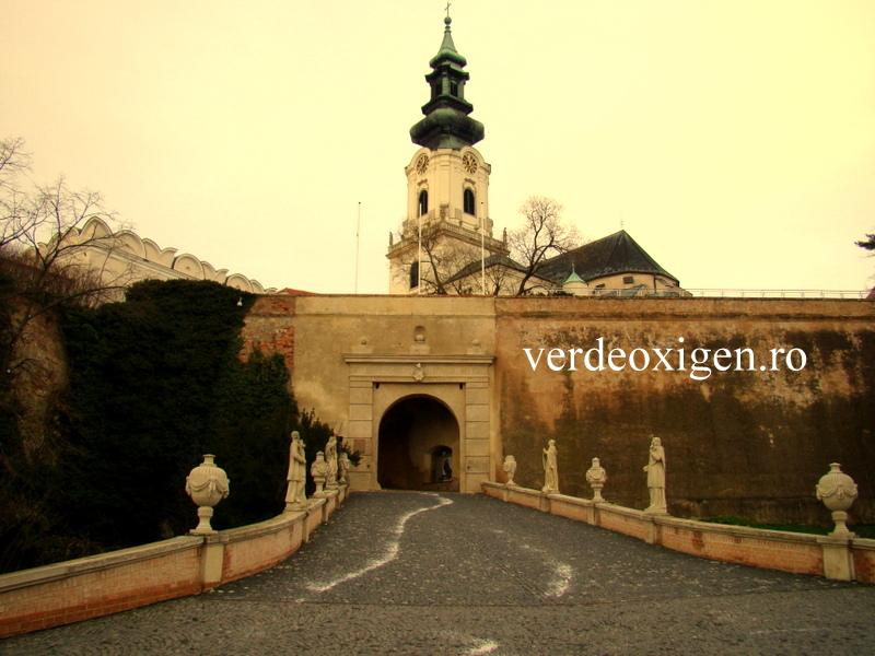 intrarea in castelul Nitra