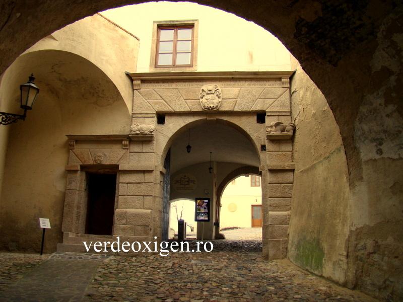 Poarta interioara castel Nitra