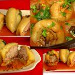 Zemosi si super gustosi: Ardei umpluti cu carne de curcan